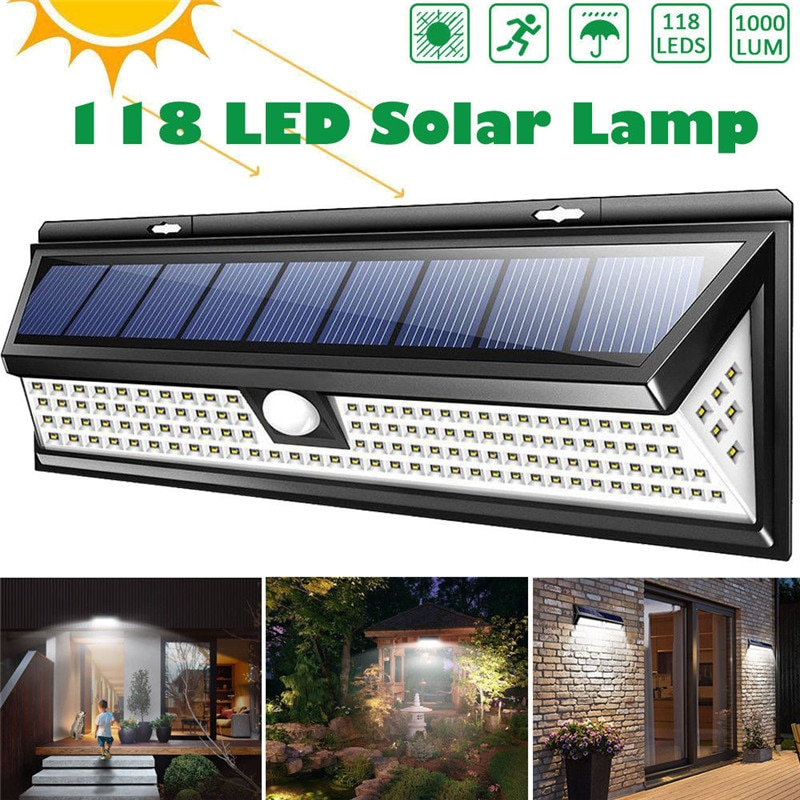 Solar Led Lights Outdoor Lamp
